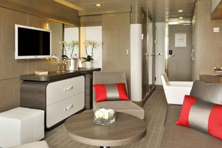Suite cabin on Le Soleal