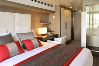 Balcony cabin on Le Soleal