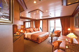 Suite cabin on Costa Mediterranea