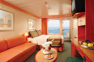 Balcony cabin on Costa Fortuna