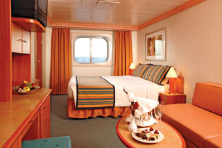 Premium Oceanview Stateroom on Costa Fortuna
