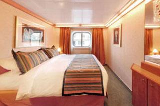 Oceanview cabin on Costa Luminosa