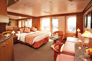 Suite cabin on Costa Favolosa