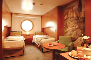 Premium Oceanview Stateroom on Costa neoRomantica