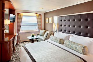 Oceanview cabin on Crystal Serenity