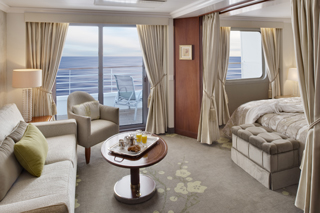 Cabins on Crystal Symphony
