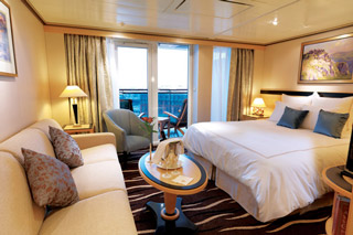 Cabins on Queen Mary 2
