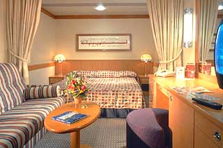 Cabins on Disney Wonder