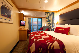 Deluxe Oceanview Stateroom with Verandah on Disney Fantasy