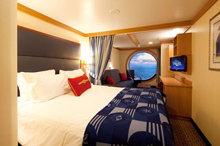 Deluxe Family Oceanview Stateroom on Disney Fantasy