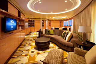 Concierge Royal Suite with Verandah on Disney Fantasy
