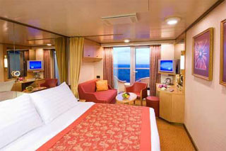 Suite cabin on Maasdam