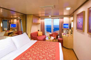 Suite cabin on Zaandam
