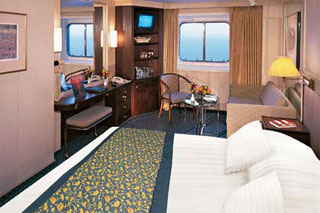 Large Oceanview Stateroom on Prinsendam