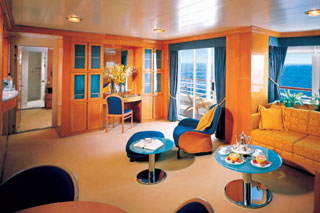 Pinnacle Suite on Prinsendam