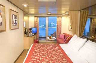 Balcony cabin on Zuiderdam