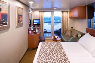 Cabins on Eurodam
