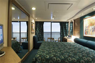 Balcony cabin on MSC Orchestra