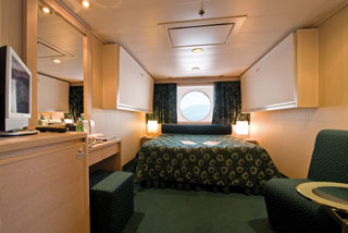Oceanview cabin on MSC Orchestra