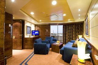 Suite cabin on MSC Splendida