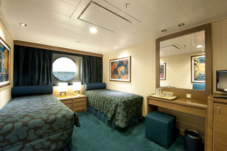 Oceanview cabin on MSC Magnifica