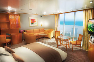 Cabins on Norwegian Sun