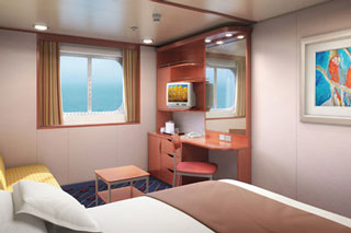 Oceanview Picture Window Stateroom on Norwegian Sun