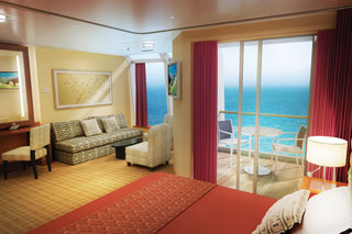 Aft-facing Penthouse with Large Balcony on Norwegian Star