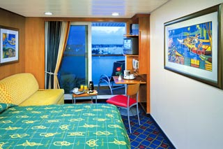 Mid-Ship Balcony on Norwegian Star