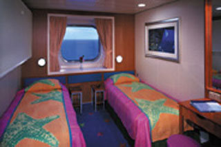 Obstructed Oceanview Stateroom on Norwegian Star