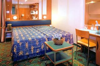 Inside Stateroom on Norwegian Star
