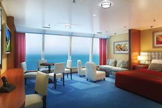 Family Suite on Norwegian Dawn
