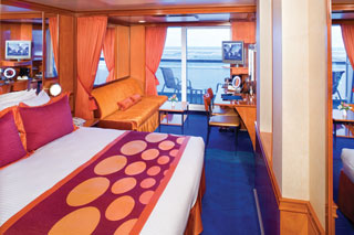 Mid-Ship Mini-Suite with Balcony on Norwegian Dawn