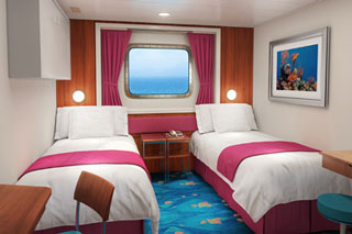 Mid-Ship Oceanview Picture Window on Norwegian Dawn