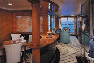 Aft-Facing Owner's Suite with Large Balcony on Norwegian Spirit
