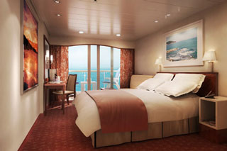 Mid-Ship Balcony Stateroom on Norwegian Spirit