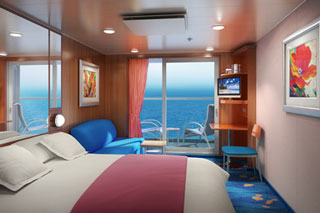 Balcony cabin on Norwegian Jewel