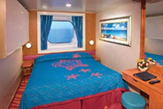 Oceanview cabin on Norwegian Jewel