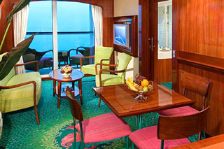 2-Bedroom Family Suite with Balcony on Norwegian Jewel