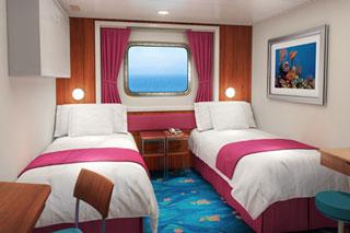 Oceanview cabin on Norwegian Pearl