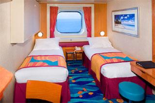 Oceanview cabin on Norwegian Gem