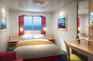 Oceanview cabin on Norwegian Sky