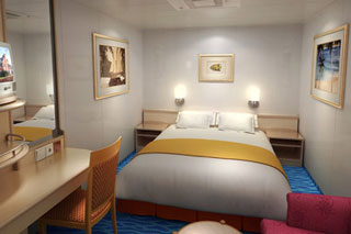 Inside Stateroom on Norwegian Sky