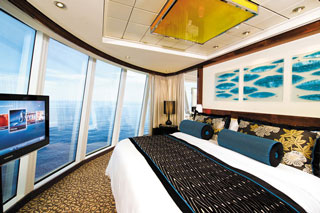 Deluxe Owner's Suite with Large Balcony on Norwegian Epic