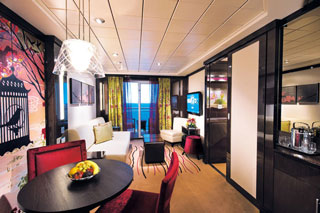 The Haven 2-Bedroom Family Villa with Balcony on Norwegian Epic