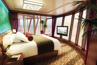 Suite cabin on Norwegian Epic