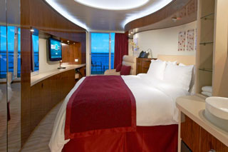 Mini-Suite with Balcony on Norwegian Epic