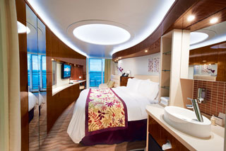 Spa Balcony Stateroom on Norwegian Epic