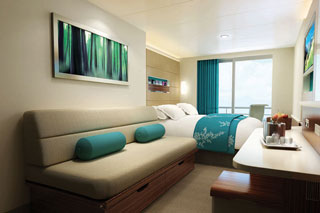 Mid-Ship Balcony Stateroom on Norwegian Breakaway