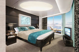 The Haven Deluxe Owner's Suite with Large Balcony on Norwegian Breakaway